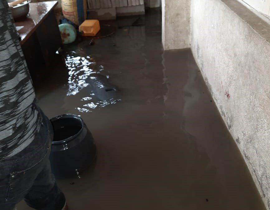 ORKAAN ELOISE ZORGT VOOR WATEROVERLAST IN BEIRA