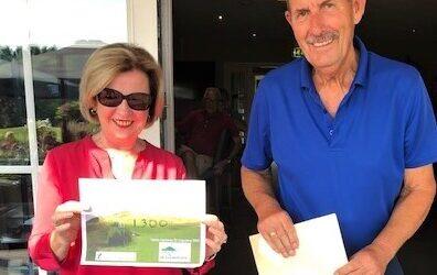 Golfers steunen de doctors met mooie gift